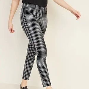 Mid-Rise Printed Pixie Ankle Pants Size 16 NWT